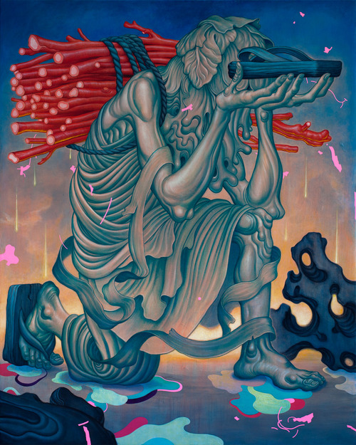 Offering, by James Jean