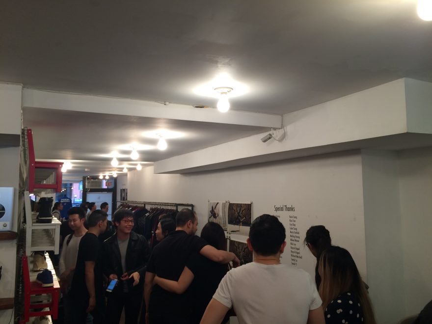 Opening crowd at BBoy Monsters at Reedspace